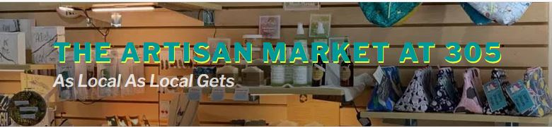 Artisan market at 305