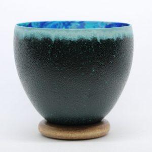 Emu eggshell bowl